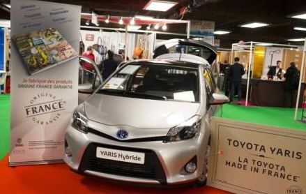 Toyota Yaris made in france